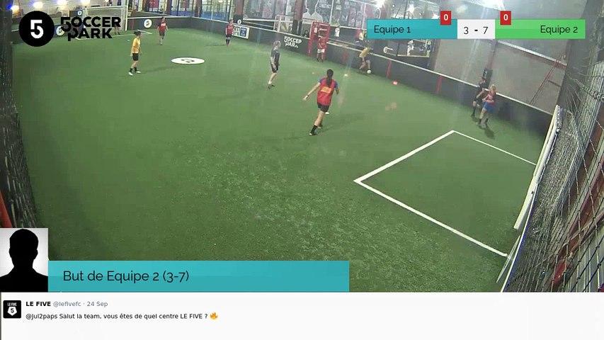 But de Equipe 2 (3-7)