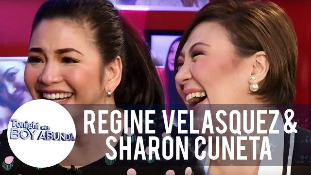 Fast Talk with Regine Velasquez and Sharon Cuneta | TWBA