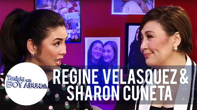 Sharon admires Regine for being a good stepmother to Leila Alcasid | TWBA
