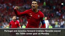 Ronaldo scores 700th career goal