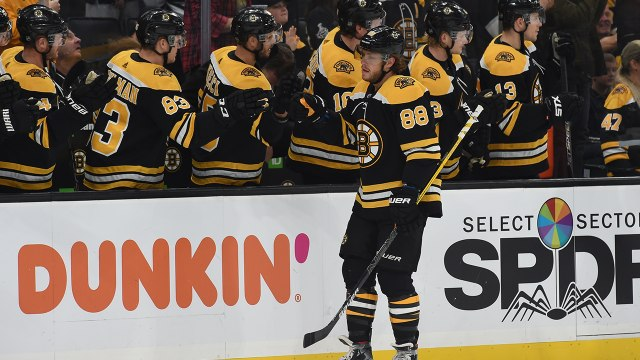 David Pastrnak's four-goal performance