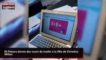 M Pokora donne des cours de maths à la fille de Christina Milian (vidéo)