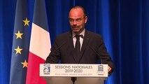 Allocution d'Edouard Philippe devant les sessions nationales de l'IHEDN et de l'INHESJ