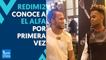 Redimi2 y El Alfa se conocen por primera vez    Mira lo que dijo Redimi2 de Almighty