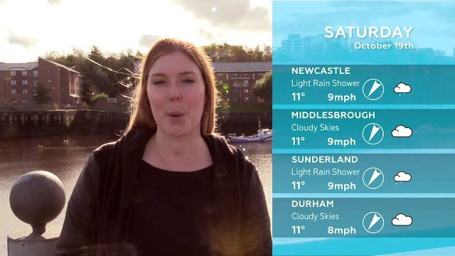 WEATHER: October 19th 2019