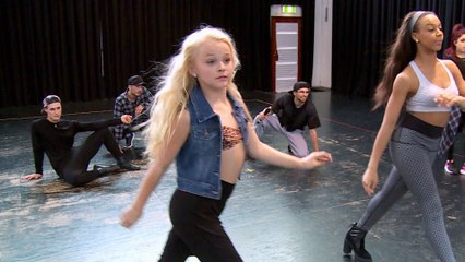 Dance Moms: Nia Rehearses Her Live Performance