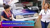 รถSUVมือสอง Mitsubishi G-Wagon ปี 02 ราคาโปรโมชั่นสุดๆ กับของแถมอีกเพียบ