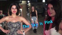 Urvashi Rautela, Jhanvi, Ira Khan Arrives At Priyanka Chopra's Movie Screening OF THE SKY IS PINK