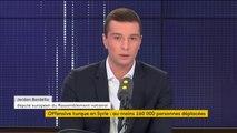 """Retour d'Eric Zemmour sur CNews : """"Ce qui me gêne c'est cette censure permanente sur Eric Zemmour"""", selon Jordan Bardella"""