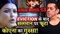 BIGG BOSS 13- Koena Mitra Lashes Salman Khan For His Behaviour After Her Eviction!