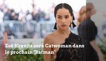 """Zoë Kravitz sera Catwoman dans le prochain """"Batman"""""""