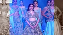 Aditi Rao Hydari Looks Gorgeous As Walk On Ramp For Kalki at Bombay Times Fashion Week