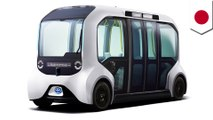 Toyota supplies driverless bus for 2020 Olympics