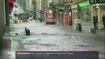"""Le Fil Actu - Météo : Un seul département reste ce matin en vigilance orange """"orages"""", """"pluie inondation"""": les Alpes-Maritimes - Regardez les images spectaculaires du déluge hier dans de nombreuses villes"""