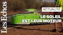 Top départ pour la « Formule 1 » des voitures solaires, en Australie
