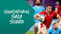 Sensational score from Gareth Davies against Uruguay