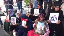 HDP önündeki ailelerin evlat nöbeti 43'üncü gününde