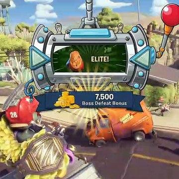 Elite Pumpkin Squash Boss! - Plants vs. Zombies: Battle for Neighborville - Gameplay Part 42