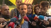 Asens pide explicaciones a Aragonès y Buch por las cargas de los Mossos