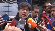 """Puigdemont pedirá la """"restitución de sus derechos políticos y económicos"""""""