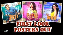Pati Patni Aur Woh ,  Kartik as Pati, Bhumi as Patni And Ananya as Woh ,  First Look Posters Out