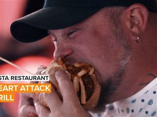 Découvrez ce restaurant incroyable : Le Heart Attack Grill