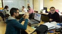 En Macédoine du Nord, les jeunes diplômés voient leur avenir à l'étranger