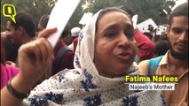'Where's My Country Going?': Najeeb's Mother Protests in Delhi