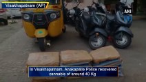 40 Kg cannabis seized by Anakapalle Police in Visakhapatnam, 4 arrested
