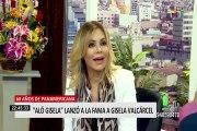 """""""Aló Gisela"""": Gisela Valcárcel regresa a Panamericana Televisión"""