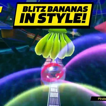 Super Monkey Ball : Banana Blitz HD   Sonic Rolls In !   Official Trailer   PS4