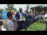 RTG/La communauté chrétienne Gabonaise lance officiellement l'initiative d'appui au micro jardin en prélude à la célébration journée de l'alimentation