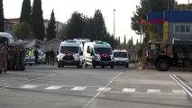 Gaziantep barış pınarı harekatı şehitleri memleketlerine uğurlandı