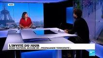 """Le dramaturge kurde Aram Tastekin à France24: """"Il faut agir tout de suite, la solidarité ne suffit pas"""""""
