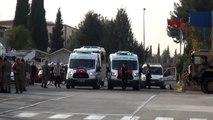 Gaziantep-barış pınarı harekatı şehitleri memleketlerine uğurlandı