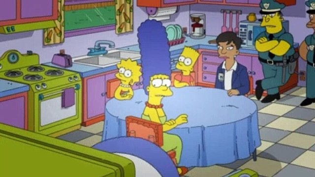 The Simpsons Season 31 Episode 3 The Fat Blue Line