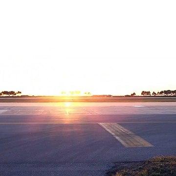 F-16 Fighting Falcons Twilight Takeoff At Kunsan Air Base