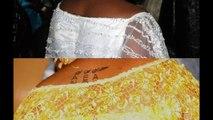 Le tatouage de Sokhna Aïda Diallo, épouse de Serigne Béthio