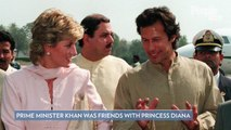 Kate Middleton and Prince William Meet with Pakistan's PM Imran Khan — a Friend of Princess Diana