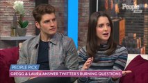 A Cinderella Story: Christmas Wish's Gregg Sulkin and Laura Marano Answer Twitter's Burning Questions