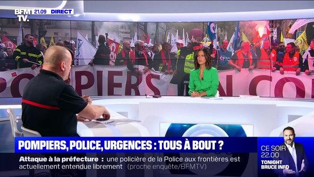 Des milliers de pompiers manifestent à Paris pour exprimer leur mécontentement - 15/10
