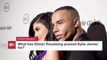 Olivier Rousteing Teams Up With Kylie Jenner