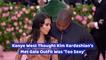 Kanye West Comments On Kim Kardashian Fashion