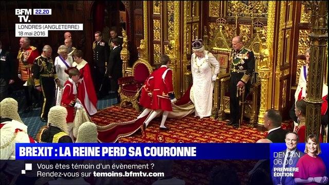 """Pourquoi Elizabeth II ne portait pas sa couronne lors du """"discours de la reine"""" ? - 15/10"""