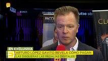 Arturo López Gavito revela cómo pagan las disqueras las regalías digitales. | Ventaneando