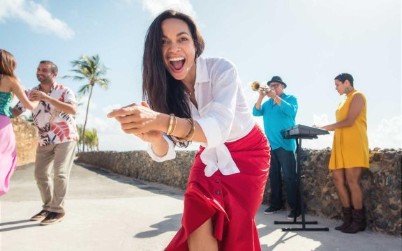 Why Rosario Dawson Says Puerto Rico Is the One Place That Keeps You Feeling Recharged Long After You've Left