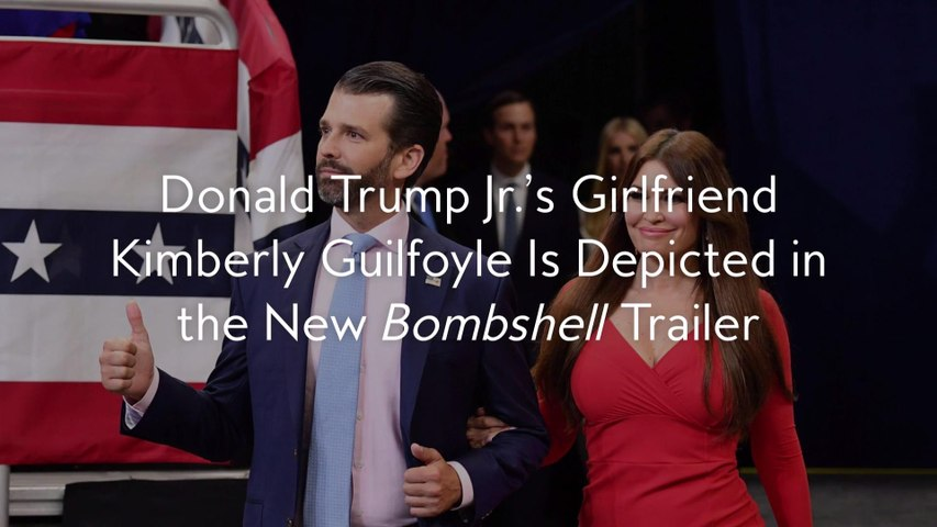 Donald Trump Jr.'s Girlfriend Kimberly Guilfoyle Is Depicted in the New Bombshell Trailer