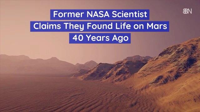 NASA Scientist Makes Bold Claim
