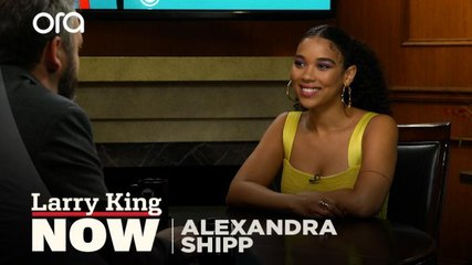 """""""I never shy away from hard conversations"""": Alexandra Shipp on controversial Aaliyah casting"""
