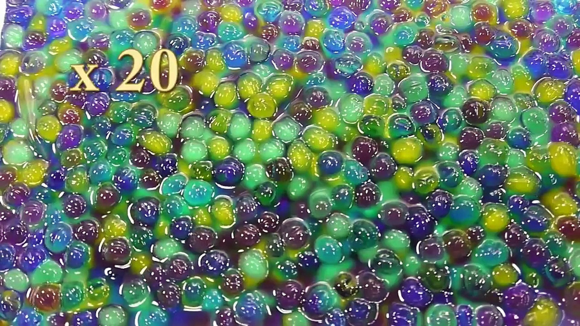 How To Make Orbeez Magic Growing Water Ball Toys Learn Colors Slime Fun Toys For Kids